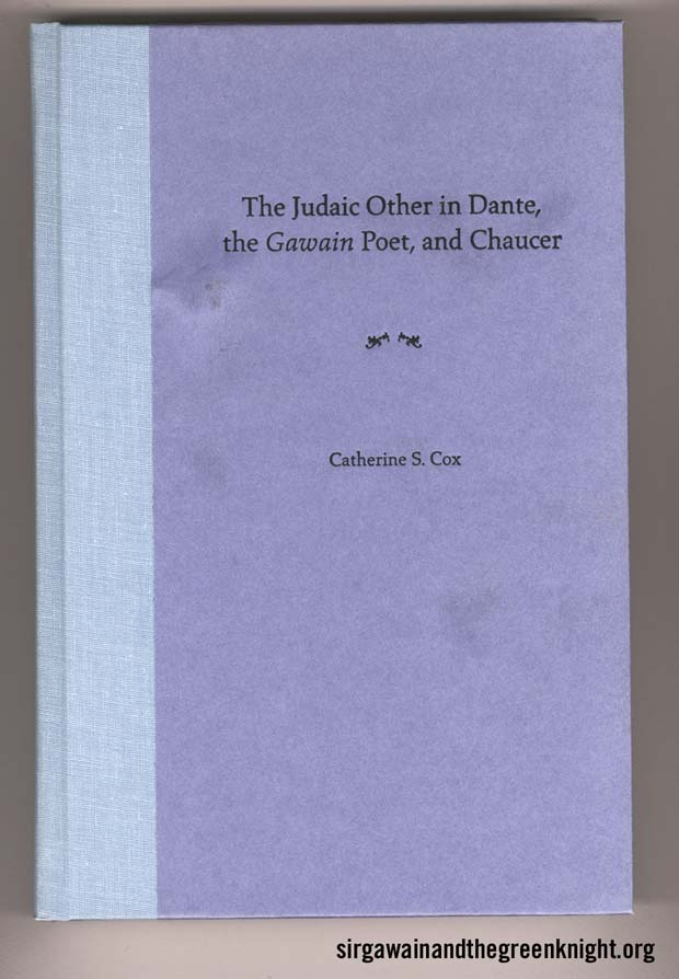 The Judaic Other in Dante - the Gawain Poet - Chaucer