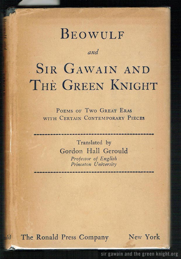 Sir Gawain and the Green Knight - Gerould Translation
