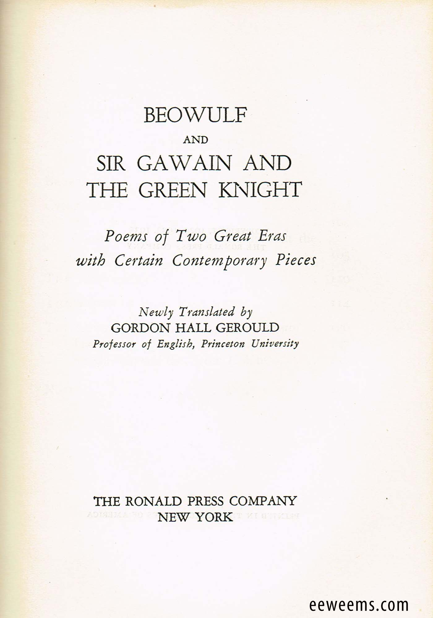 the moral issues in sir gawain and the green knight by pearl poet Free sir gawain and the green knight  as well as moral challenge to the main character, sir  the pearl poet, the seduction scene leads gawain to.