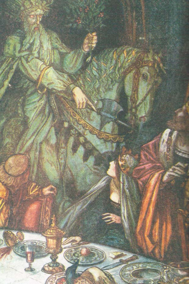 essays on sir gawain Sir gawain and the green knight contains a thought-provoking message the pentangle's ideals form the central conflict within the story, which is gawain's inner fght more so than his ordeal with the green knight.